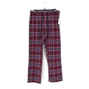PJ Salvage Plaid Cozy Time Lounge Cotton Pants M